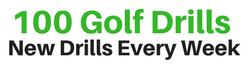 100 Golf Drills Logo