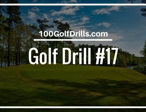 Two Tee Putting Stroke Path Drill for Beginners
