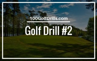 golf chipping drill distance control