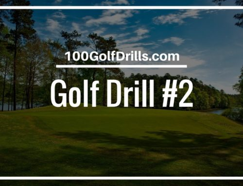 Golf Chipping Drill to Control Distance