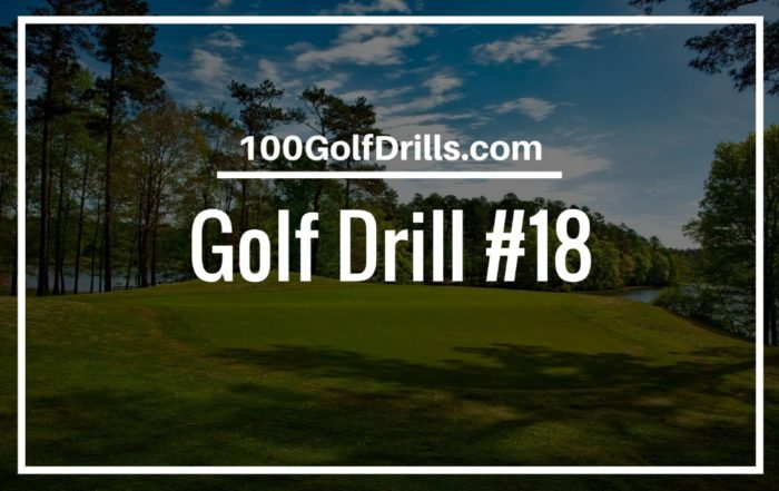 golf swing lag drill