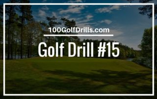 golf swing turn drill
